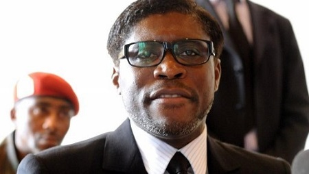 Teodorin Obiang, en janvier 2012. © AFP/Abdelhak Sen