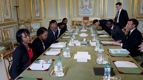 Le président français Emmanuel Macron a procédé à l'installation d'une commission chargée d'enquêter sur le rôle de la France pendant le génocide rwandais de 1994