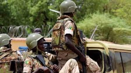 Camps des forces maliennes