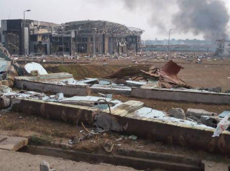 Quatre explosions dans un camp militaire de Bata. Photo: RSA