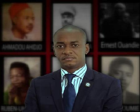 Cabral Libii, député camerounais, 3ème à la présidentielle de 2018