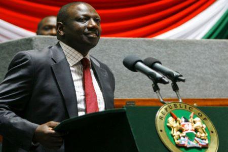 Le vice-président du Kenya, William Ruto
