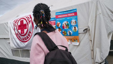 La hiérarchie de la Croix-Rouge malgache est poursuivie pour détournements de fonds. © RIJASOLO / AFP