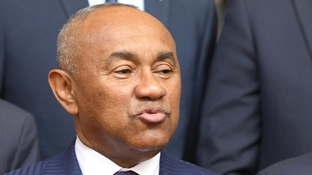 Ahmad Ahmad, président de la Confédération africaine de football