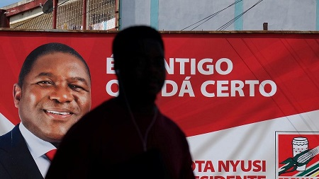 Filipe Nyusi réelu pour un second mandat avec 73% des suffrages