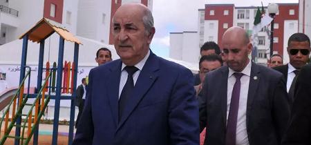 Le nouveau Premier ministre algérien Abdelmadjid Tebboune avant sa nomination le 3 avril 2017 à Alger REUTERS/ Ramzi Boudina