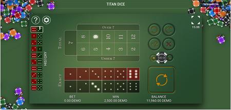 Titan Dice et ses graphismes hallucinants