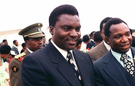 Le président Juvénal Habyarimana