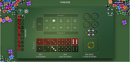 Titan Dice, le jeu de dés aux graphismes incroyables