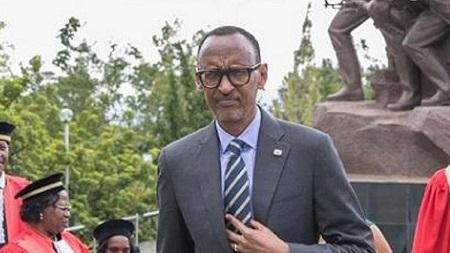 Le président rwandais Paul Kagamé