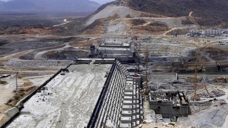 Le barrage de la Grande renaissance construit en Ethiopie dans la région de Benishangul Gumuz, sur le Nil Bleu. (image d'illustration) © REUTERS/Tiksa Negeri