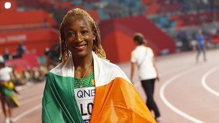 L'Ivoirienne Marie-Josée Ta Lou, médaillée de bronze sur 100 m dimanche