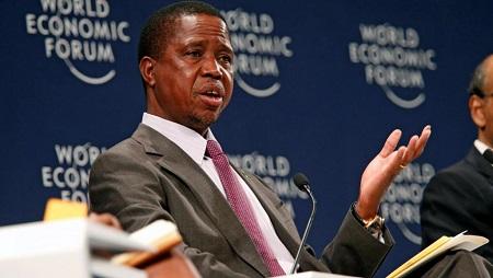 Le président zambien Edgar Lungu n'a pas apprécié les positions de l'ambassadeur américain en Zambie sur homosexualité. © REUTERS/Rogan Ward