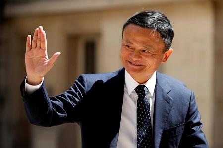 Jack Ma à Paris, le 15 mai 2019. — © Charles Platiau/REUTERS