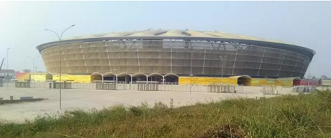 Le Stade Japoma de Douala. WikiCommons / Kondah