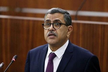 Le premier ministre Abdelaziz Djerad