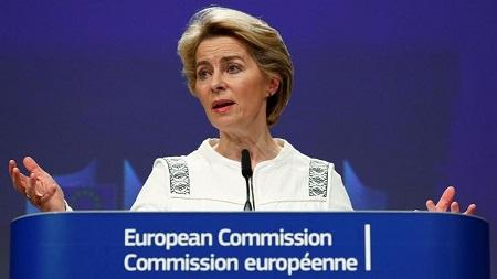 Ursula von der Leyen, présidente de la Commission européenne, le 4 décembre 2019. REUTERS/Francois Lenoir