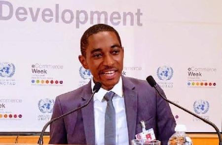 L'entrepreneur camerounais Cédric Atangana, PDG Infinity Space