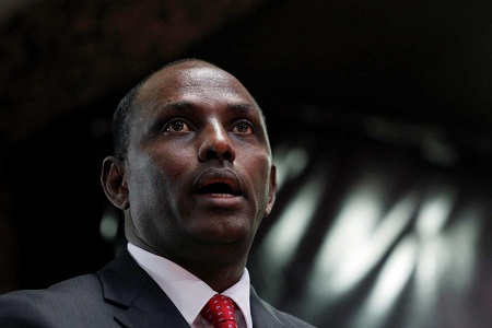 Ukur Yatani, ministre kényan des Finances ©Reuters