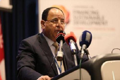 Le ministre égyptien des Finances, Mohamed Maait