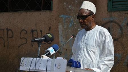 Le président guinéen Alpha Condé, 82 ans