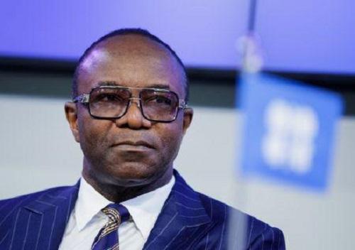 Ministre d'Etat aux Ressources pétrolières, M. Ibe Kachikwu