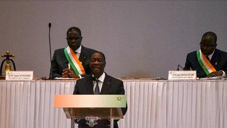 Alassane Ouattara, le président ivoirien. AFP