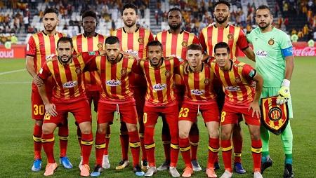 L'Espérance de Tunis lors du Mondial des clubs, le 14 décembre 2019. Kai Pfaffenbach/Reuters