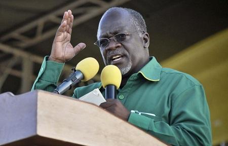 Le président de la Tanzanie, John Magufuli