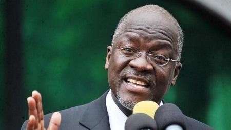 Le président tanzanien John Pombe Magufuli s'est emporté contre l'administration ougandaise. © REUTERS/Sadi Said