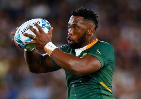 Le Sud-Africain Siya Kolisi. Odd ANDERSEN / AFP