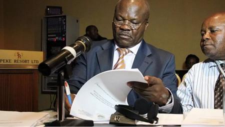 L'ex-chef de guerre congolais Roger Lumbala a été arrêté à Paris et mis en examen (Image d'ilustration). © AFP/ISAAC KASAMANI
