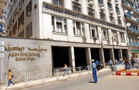 Bourse d'Alger. D. R.