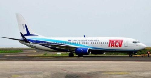 La compagnie aérienne nationale capverdienne, Cabo Verde Airlines (TACV)