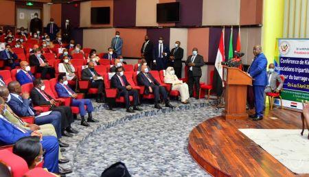Le chef de l'État de la République démocratique du Congo Félix Tshisekedi, président en exercice de l'Union africaine.