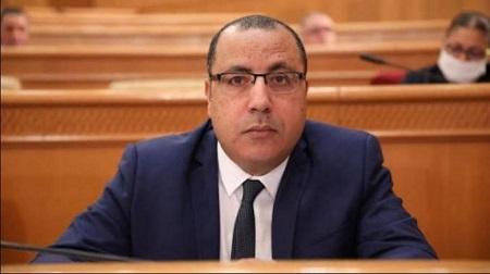 Le Premier ministre tunisien, Hichem Mechichi
