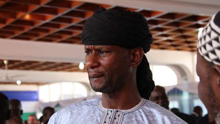 Sidiki Abass, feu leader du groupe armé centrafricain «3R», ici photographié le 6 février 2020 à Bangui (image d'illustration).© Gaël Grilhot Source: AFP
