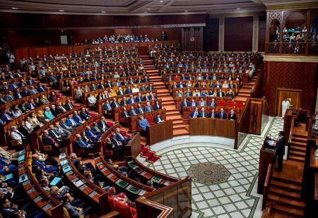 Parlement du Royaume du Maroc. AFP/FADEL SENNA