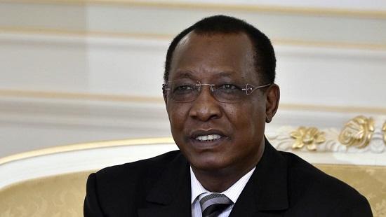 Le président tchadien, Idriss Déby, a limogé deux de ses ministres. © AFP PHOTO / MIGUEL MEDINA