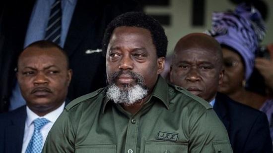 Joseph Kabila, président de la République démocratique du Congo en fin de mandat