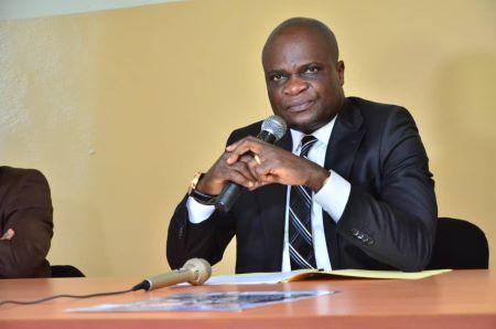 Willy Bakonga, ex-ministre de l'Enseignement de la République démocratique du Congo (RDC)