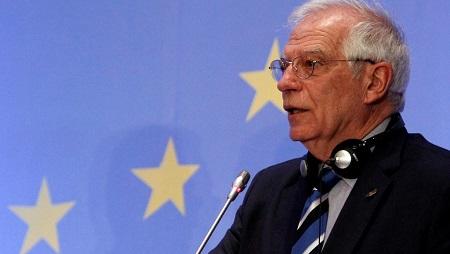 Le nouveau haut représentant de l'Union européenne pour les Affaires extérieures, Josep Borrell (image d'illustration) © REUTERS/Yiannis Kourtoglou