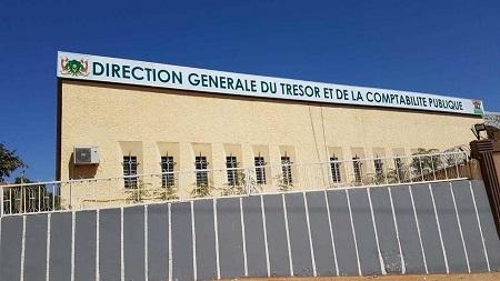 Le siège de la Direction générale du trésor et de la comptabilité publique à Niamey ML/RFI