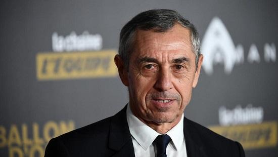 Le Français Alain Giresse. FRANCK FIFE / AFP