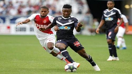 Samuel Kalu, attaquant des Girondins de Bordeaux (D1 française) et de l'équipe nationale nigériane des Super Eagles