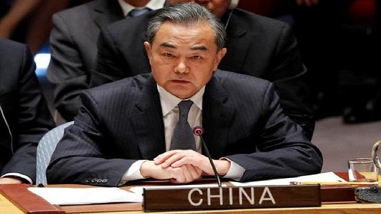Le ministre chinois des Affaires étrangères, Wang Yi