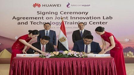 Telecom Egypt a signé un protocole d'accord technologique avec Huawei, ZTE et China Telecom