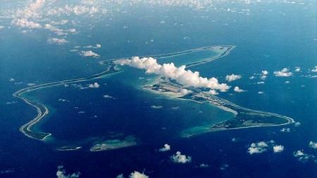 L'Assemblée générale de l'ONU a voté à une écrasante majorité pour que l'archipel des Chagos, d'une soixantaine d'îles, soit «rendu» à l'île Maurice. US Department of Defense