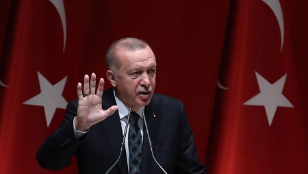 Le président turc Recep Tayyip Erdogan a annoncé que les soldats turcs étaient en train d'être déployés en Libye (image d'illustration) © Adem ALTAN / AFP