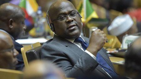 Felix Tshisekedi , à Addis-Abeba, au Sommet de l'Union africaine, en Février 2019. Photo: Africanews- SIMON MAINA/AFP